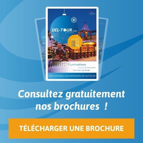 Brochures de voyages Deltour